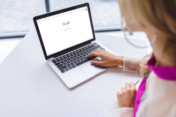 google pour trouver entreprise d'entretien